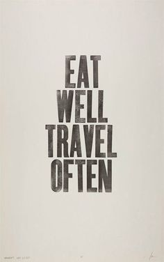 A great philosophy! #travel #quote