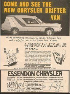 a4e1345523 1977 Chrysler CL Valiant Drifter Van