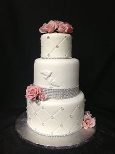 Pretty Cakes, Cute Cakes, Torte Rose, Religious Cakes, Confirmation Cakes, First Communion Cakes, Occasion Cakes, Girl Cakes, Fancy Cakes