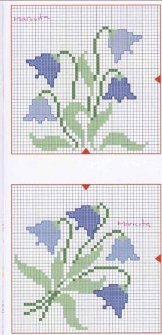 Easy Cross Stitch Patterns, Simple Cross Stitch, Cross Stitch Flowers, Cross Stitch Designs, Cross Stitching, Cross Stitch Embroidery, Beading Patterns, Embroidery Patterns, Curtain Patterns