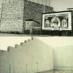 ThePelota Frontonis aBasque pelotaball court built in 1915 in Jordan Valley, Oregon, and was last used regularly in 1935. #pelotafronton #pelotafrontonjordanvalley #basque #basques #basquediaspora #jordanvalley #jordanvalleyoregon #jordanvalleyor #amerikanuak #euskaldunak #fronton #pelotavasca #pilota #basquepelota #levistraussandco #levis #levisstrauss #levistrauss #overall