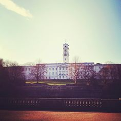 Gorgeous view of the University of Nottingham in Nottingham, England, one of our semester abroad trips!