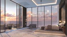 Find Your Luxury penthouse Dream Home Design, Modern House Design, Home Interior Design, My Dream Home, Luxury Homes Interior, Interior Paint, Home Bedroom, Modern Bedroom, Bedroom Decor