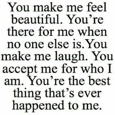 Discover and share You Make Me Happy Quotes For Him. Explore our collection of motivational and famous quotes by authors you know and love. You Make Me Happy Quotes, You Make Me Laugh, Thank You Quotes For Boyfriend, Amazing Boyfriend Quotes, Cute Things To Say To Your Boyfriend, Thankful Quotes For Him, Quotes About Boyfriends, Quotes About Love For Him, Making Love Quotes