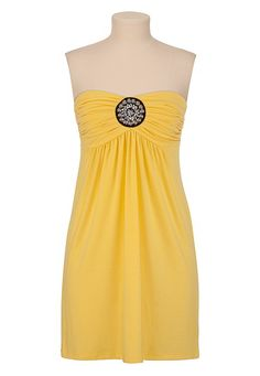 Medallion Tube Dress- Bought this in the dazzling blue and love it!!