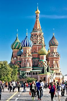 St. Basil's Cathedral in Moscow's Red Square
