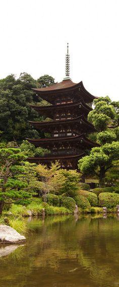 Five Storey Pagoda, Yamaguchi, Japan