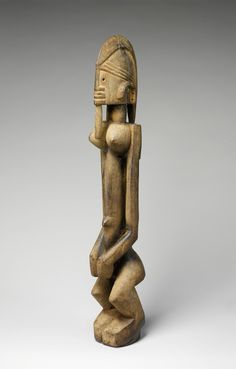 Master of Ogol | Figure: Female (Dege Dal Nda) | Dogon peoples | The Metropolitan Museum of Art