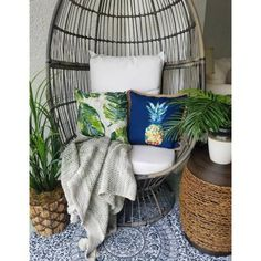 Free shipping on orders of $35+ from Target. Read reviews and buy Latigo Swivel Patio Egg Chair Brown - Opalhouse™ at Target. Get it today with Same Day Delivery, Order Pickup or Drive Up. Wicker Patio Chairs, Room Chairs, Eames Chairs, Egg Chair, Swivel Chair, Armchair, How To Clean Pillows, Screened In Patio, Oversized Chair