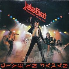Judas Priest Unleashed In The East Live In Japan   official Merch. 83852