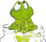Eat The Frog, Frog And Toad, Frog Pictures, Cute Pictures, Animal Drawings, Cool Drawings, Frosch Illustration, Frog Rock, Funny Frogs