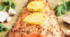 The Easiest Honey Garlic Salmon Recipe Garlic Salmon, Honey Salmon, Salmon Dishes, Fish Dishes, Delicious Salmon Recipes, Paleo Honey, Frozen Salmon, Pan Fried Salmon, Cooking Salmon