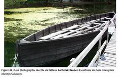 """Batteau plat """"La Persévérance"""", built for Champlain Lake maritime museum."""
