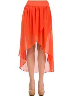 Sukně COLLEZIONE - oranžová