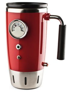Hot Rod self heating coffee mug-- NEED!!