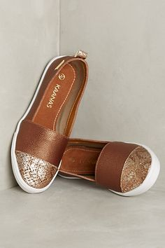 Casual dressy cool.......Kaanas Serengeti Python Sneakers - anthropologie.com