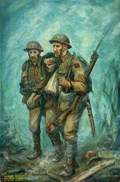 Cardiff Men at Mametz Wood, 12th July 1916