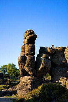 Strange Rock Formations at Brimham Rocks North Yorkshire England by Mark Sunderland, via Flickr