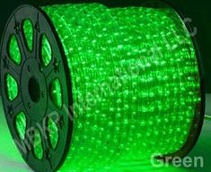 GREEN LED Rope Lights Auto Home Christmas Lighting 10 Meters(32.8 Feet) *** To view further, visit