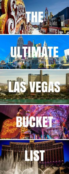 The Ultimate Las Vegas travel guide to help you plan your visit inc Where to Stay, What to eat, the Best Things To Do in Las Vegas + Day Trip Ideas! Travel in North America.