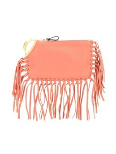 http://sellektor.com/all/mytheresa/strona-31 C-rockee Scarab Fringed Leather Clutch