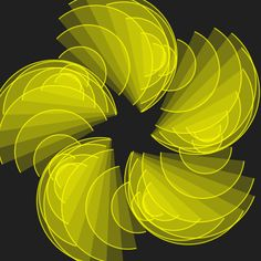 each of the five wedges rotate as they pull in, and then keep rotating as they pull out.solar winds (code here) Illusion Kunst, Illusion Gif, Cool Optical Illusions, Trippy Gif, Gifs, Graphic Design Software, Logo Design, Beautiful Fantasy Art, Photo Composition