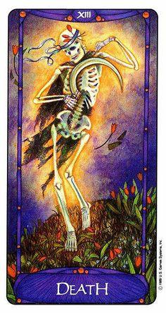 Death - Art Nouveau Tarot