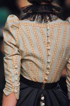 Historical influence on modern clothes.