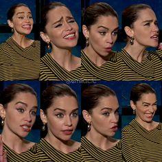 She Is Gorgeous, Beautiful Women, Emilia Clarke Daenerys Targaryen, Game Of Thrones Cast, Brown Bodies, Green Hair Colors, English Actresses, Fashion Tv, Body Measurements