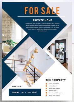 Borolon Professional Real Estate Flyer Template PSD, - Finans World 2020 Graphic Design Flyer, Web Design, Flyer Design, Layout Design, Flyer Layout, Brochure Layout, Brochure Design, Creative Flyers, Creative Design