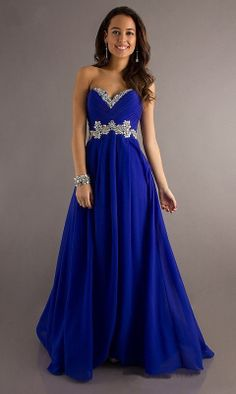New Chiffon Empire Long Formal Ball Gown Evening Bridesmaid Party Prom Dress