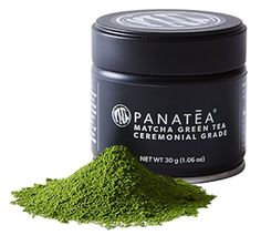 PANATEA Ceremonial Grade Matcha Green Tea Tin 100% Pure Japanese Matcha - 30 Grams (1 Month Supply) - All Natural Non GMO - Sustained Energy - Antioxidants - Metabolism Support ** See this great product.