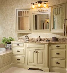 Tri Fold Bath Wall Mirrors Custom Wood Products Cabinetry Cwp