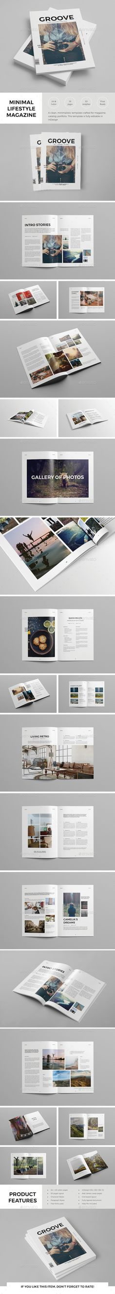 Simple Lifestyle Magazine Template InDesign INDD. Download here: http://graphicriver.net/item/simple-lifestyle-magazine-template/14561657?ref=ksioks