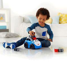 MEGA BLOKS® Peter Police Car | Mattel