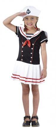 Matrosinkostüm Seemannskostüm Matrosin Sailor Lilly