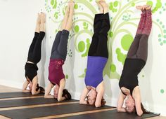 Sirshasana - Yoga inversions for beginners n.3   Precautions:  Even though this is a beginners' pose, please do not practice it at home unless you are thoroughly comfortable with the posture. The slightest mistake can lead to grave, irreversible injuries