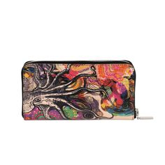 COLOURS OF MY LIFE | Wallet.  Designer Limited Edition; #WomenLeatherWallet #LuxuryWallet #DesignerWalletsUK