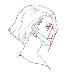 線を使ってゆがみをチェック!バランス良く顔を描く5つのポイント | いちあっぷ