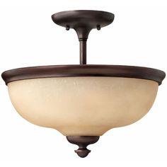 Thistledown Semi Flush Ceiling Light | Hinkley Lighting at Lightology