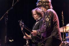 Alejandro Escovedo and Peter Buck performed at Stuart's Opera House in Nelsonville on Feb. 23.