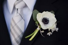 Peony Brides -What are you using for the boutonnieres? (& a little vent) :  wedding Poppy Boutinerre