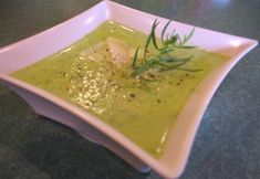 Bonjour Paris - Recipe for Zucchini Parmesan Soup or Soupe Courgettes Parmesan