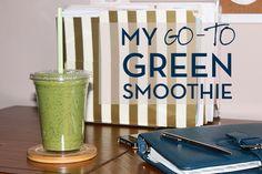 Brilliant blog and smoothie recipe from @megan_kristel @megkristel
