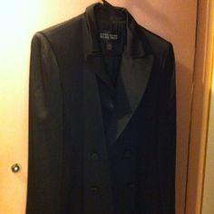 Tuxedo black jacket Ellen Tracy elegant black tuxedo jacket Jackets & Coats