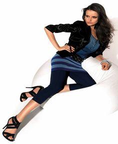 MARIANNE | Montpellier katoenen caprilegging blauw | Nu 10% korting! - SOSHIN.nl Capri Leggings, Capri Pants, Montpellier, Marianne, Fashion, Everything, Capri Pants Outfits, Capri Trousers, Fashion Styles