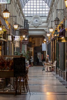Passages -- covered shopping arcades -- are making a comeback in Paris