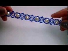 Tutorial beaded bracelet. Красивый браслетик из бисера, бусин и твина. МК. DIY. - YouTube