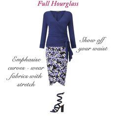 Best skirt styles for your body shape - full hourglass