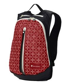 Take a look at this Sangria & Black Access LE Backpack by Sherpani on #zulily today!